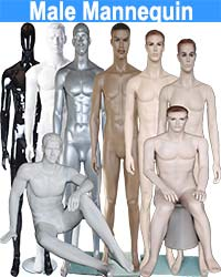 Male Mannequin from $84