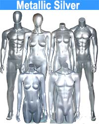 MetallicSilver Mannequin from $69