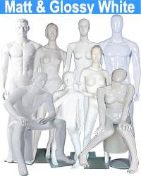 Matt & Glossy White Mannequin