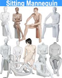 Sitting Mannequin